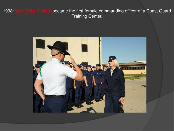 Ppt Celebrating Women In Us Coast Guard History Powerpoint