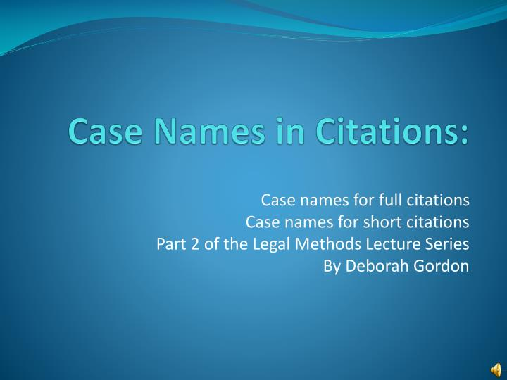 case names in citations n.
