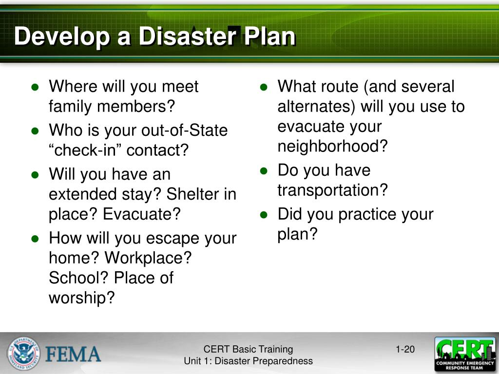 PPT - Disaster Preparedness PowerPoint Presentation - ID:4817450