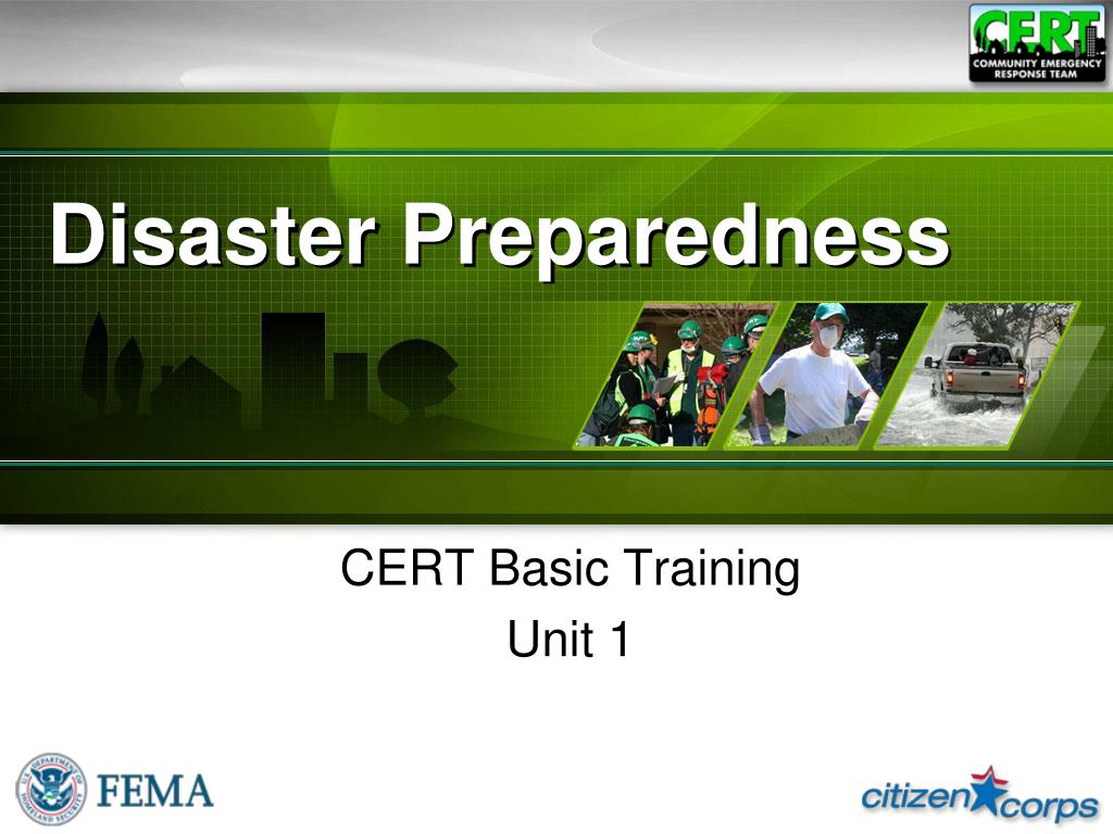 PPT - Disaster Preparedness PowerPoint Presentation - ID:4817450