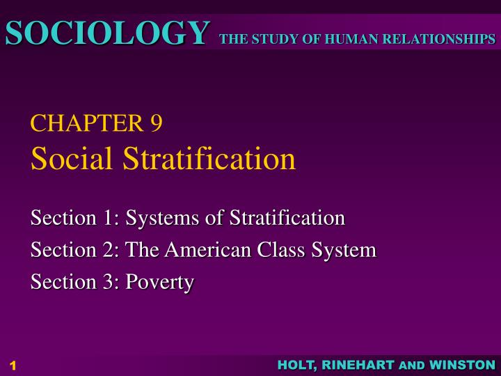 empirical studies of social stratification in the caribbean Unit 1 module 1 - sociology, culture & identity quantitative methods: rigours of quantitative methods better suited for sociological research: within the social sciences, there is a debate about whether sociology is a science or not.
