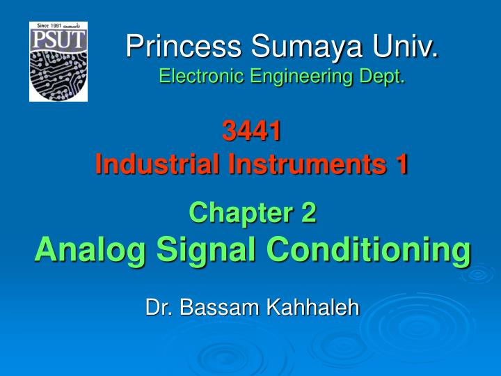 3441 industrial instruments 1 chapter 2 analog signal conditioning n.