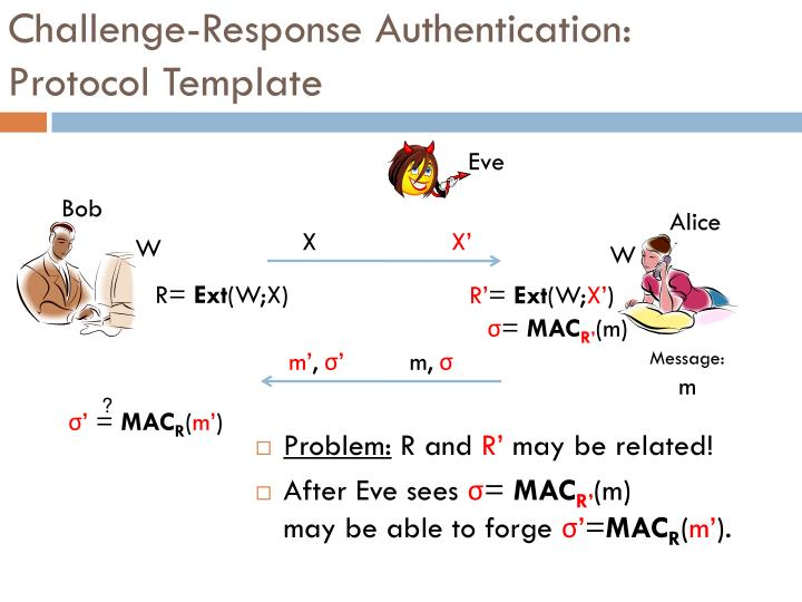 Challenge-Response Authentication: