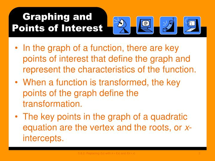Graphing and points of interest