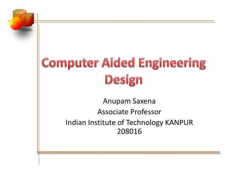 computer aided engineering design n.