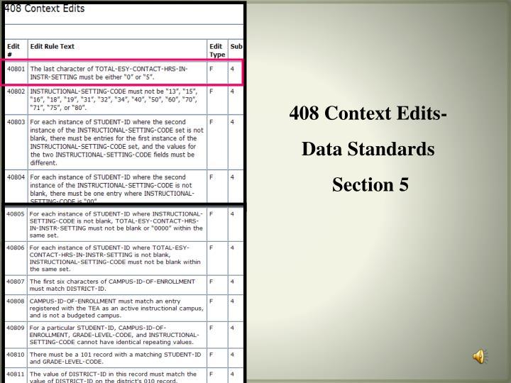408 Context Edits-