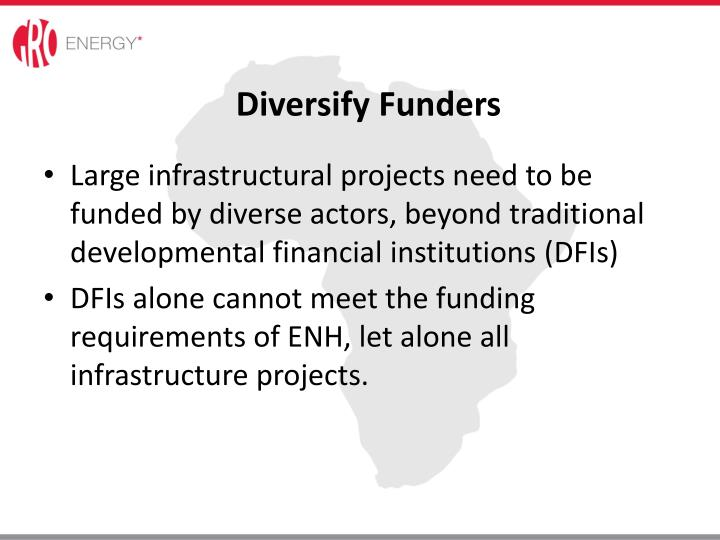 Diversify Funders
