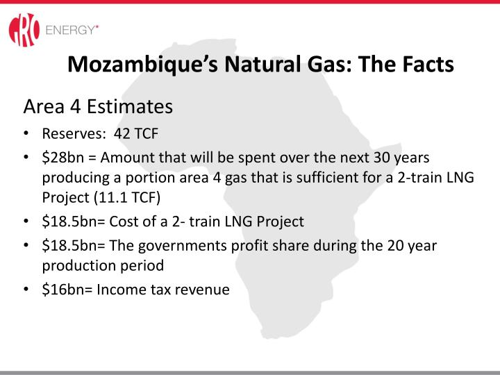 Mozambique's Natural Gas: The Facts