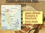 russo japanese war 1904