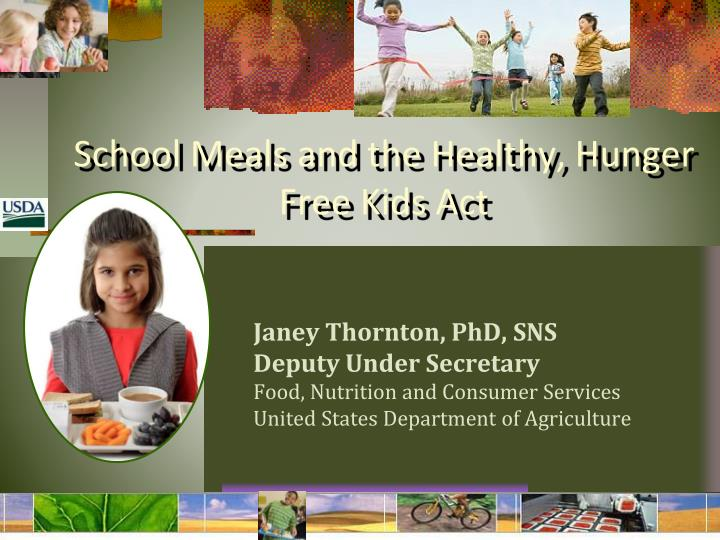 healthy hungar act (a) short title—this act may be cited as the ''healthy, hunger-free kids act of 2010'' (b) t able of c ontents —the table of contents for this act.