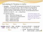 calculating iv titration in ml hr3