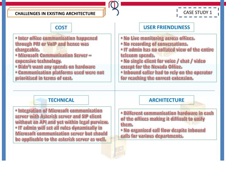 CHALLENGES IN EXISTING ARCHITECTURE