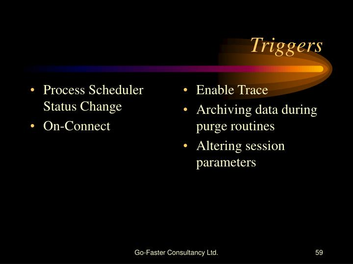 Process Scheduler Status Change