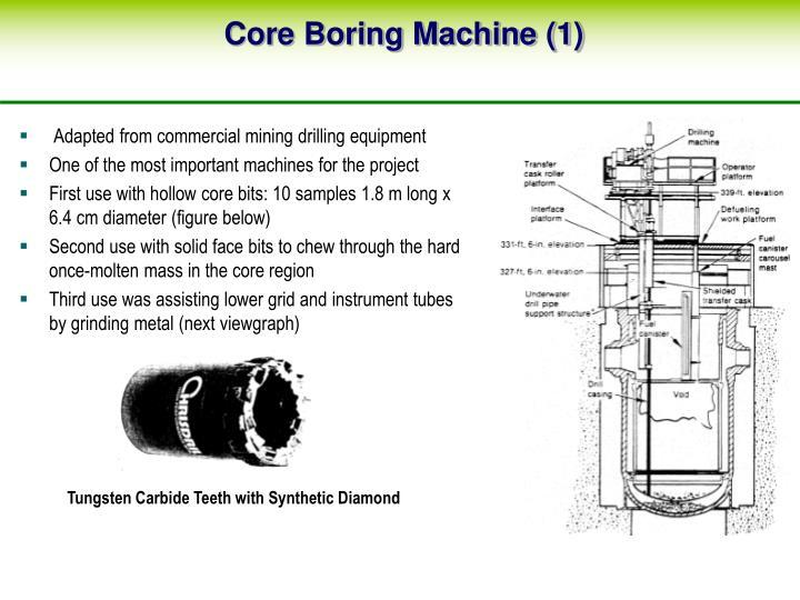 Core Boring Machine (1)