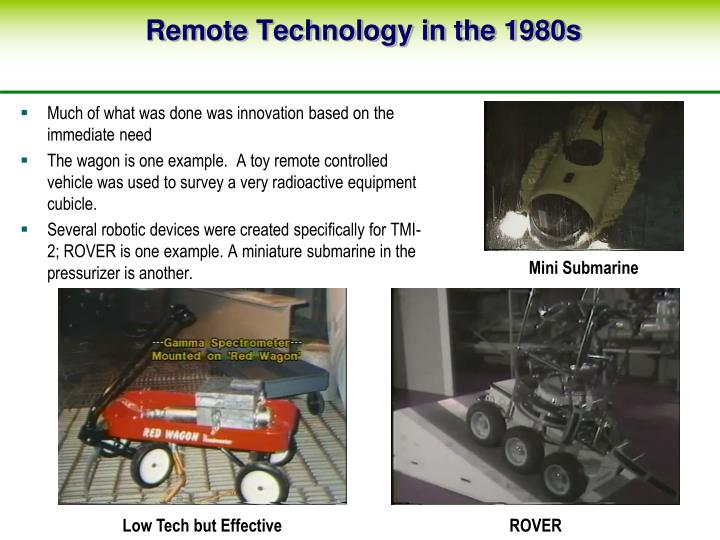 Remote Technology in the 1980s