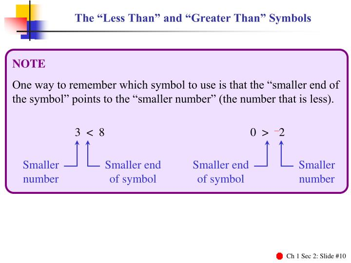 Less Than And More Than Symbols Gallery Definition Of Symbolism