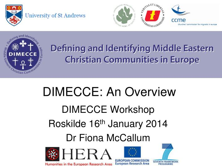 dimecce an overview n.