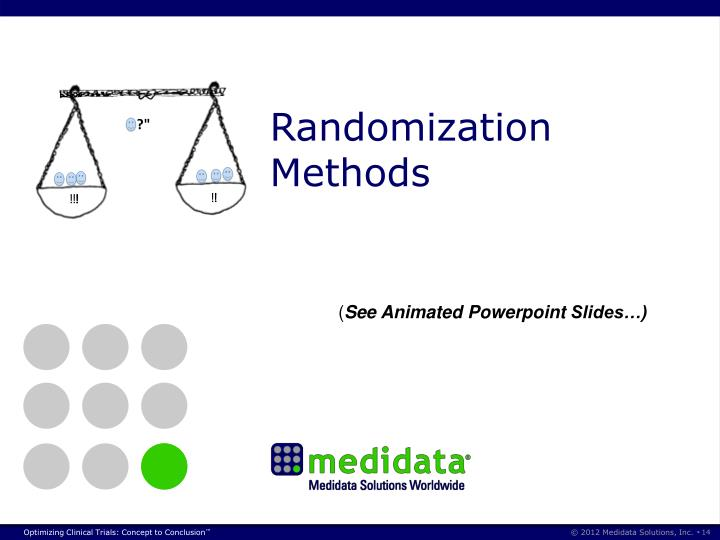 Randomization Methods