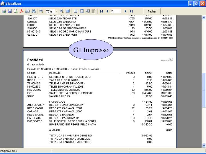 G1 Impresso