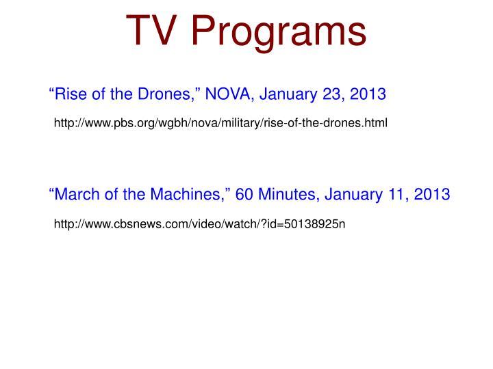 TV Programs
