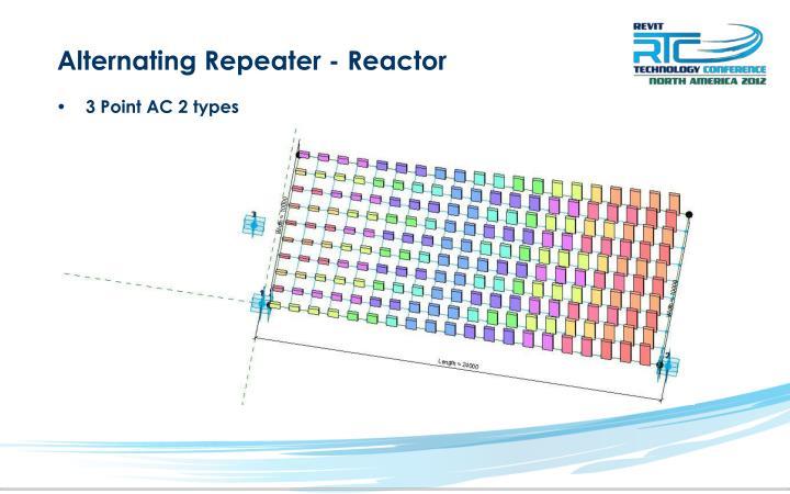 Alternating Repeater - Reactor