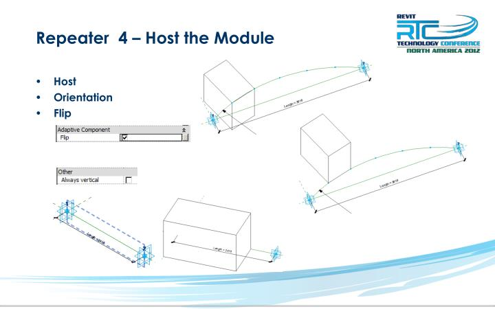 Repeater  4 – Host the Module