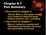 chapter 6 7 plot summary
