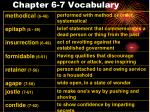chapter 6 7 vocabulary