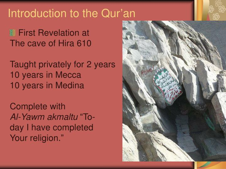 introduction to the qur an n.