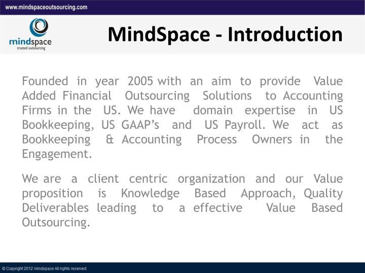 MindSpace - Introduction