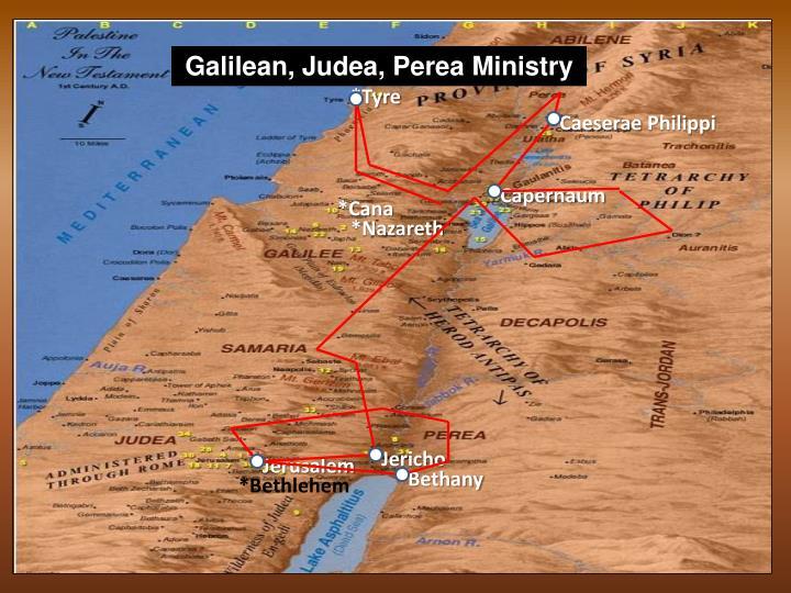 Galilean, Judea,