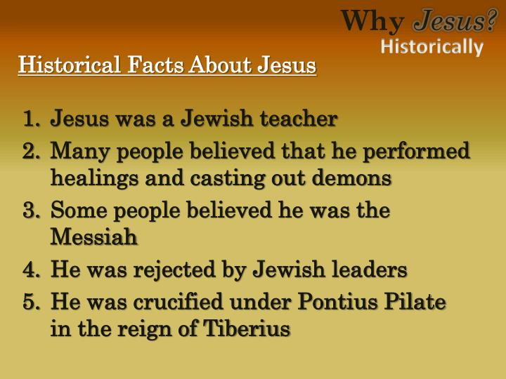 Historical Facts About Jesus