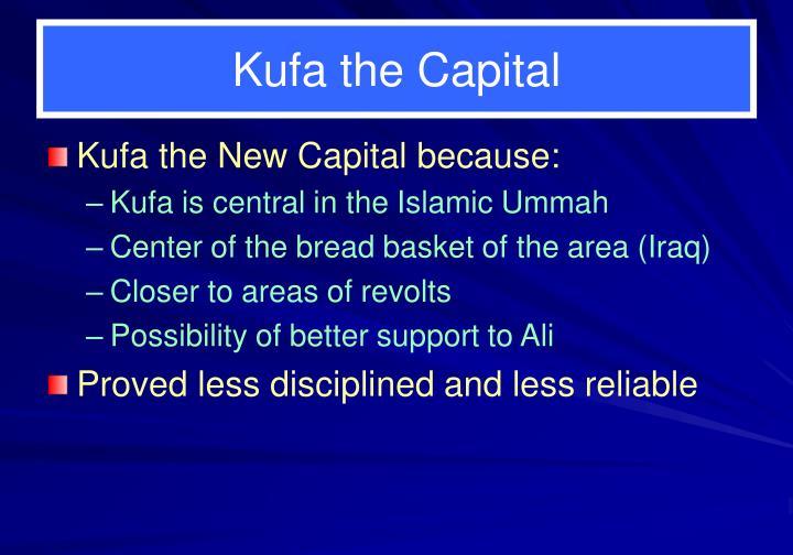 Kufa the Capital