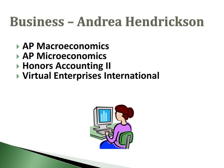 Business – Andrea Hendrickson
