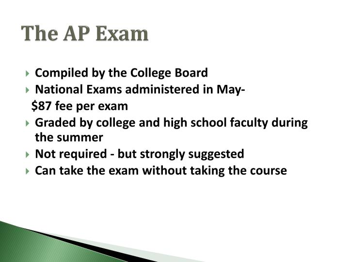 The AP Exam