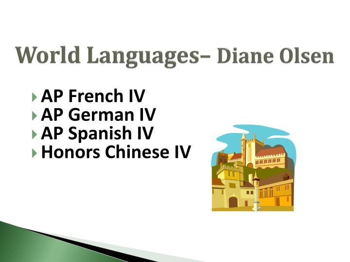 World Languages–