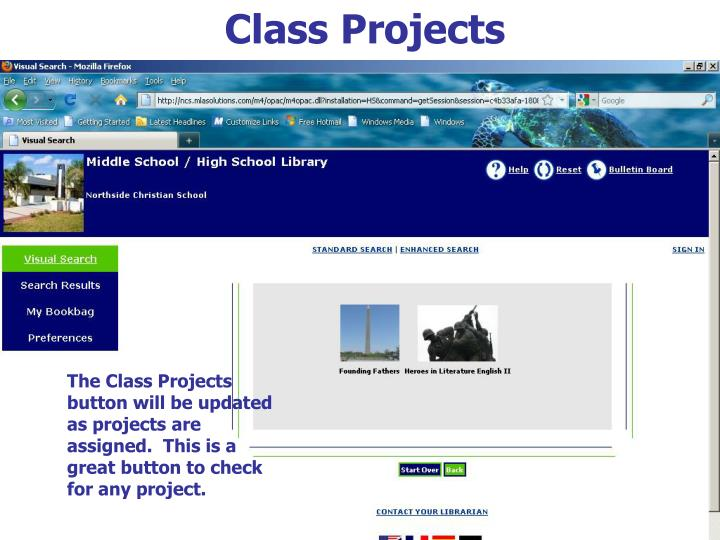 Class Projects