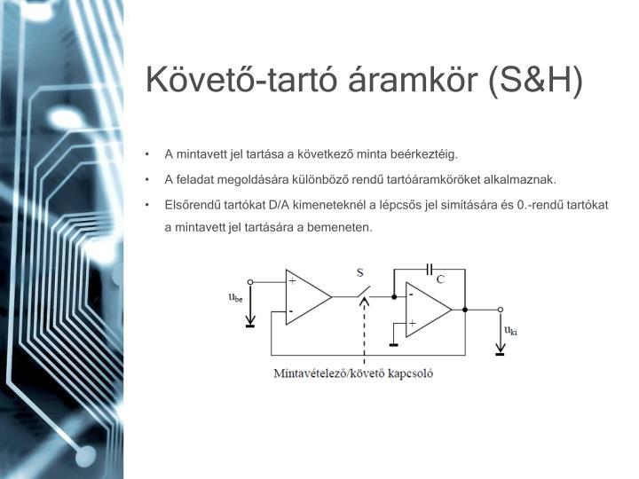 Követő-tartó áramkör (S&H)