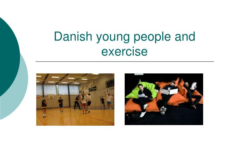 danish young people and exercise