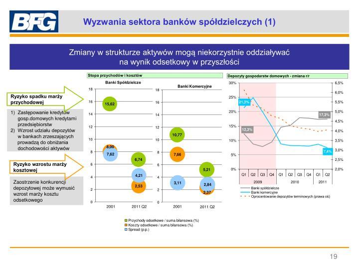Wyzwania sektora banków spółdzielczych (1)