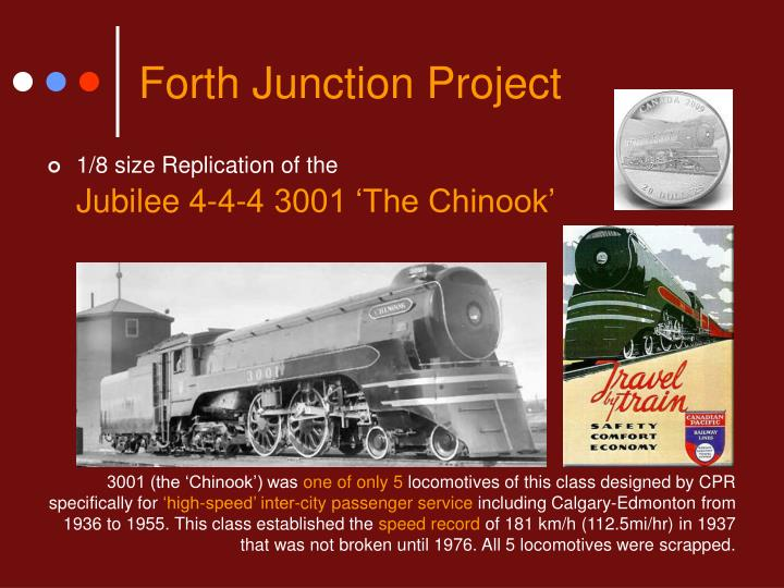 Forth Junction Project