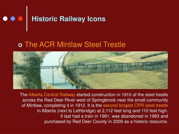 Historic Railway Icons