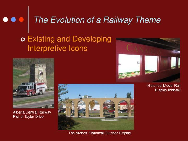 The Evolution of a Railway Theme