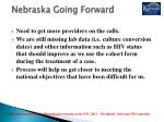 nebraska going forward