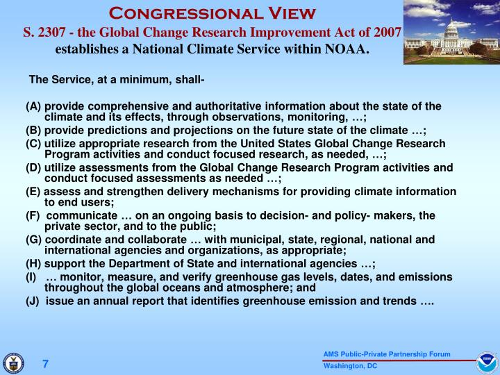 Congressional View
