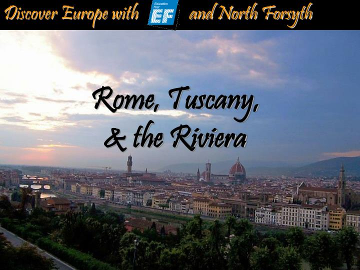 discover europe with and north forsyth n.