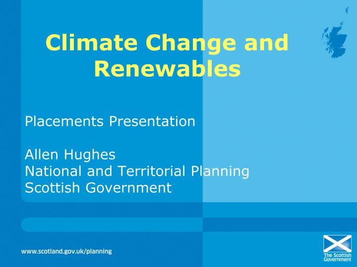 climate change and renewables n.