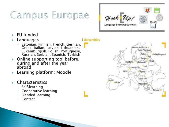 campus europae hook up Title: campus europae - a laboratory of mobility, author: euf ce, name: campus europae - a laboratory of mobility, length: 70 pages,  sign up log in.