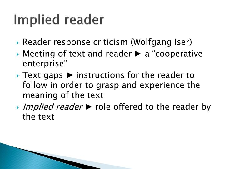 wolfgang iser the implied reader pdf