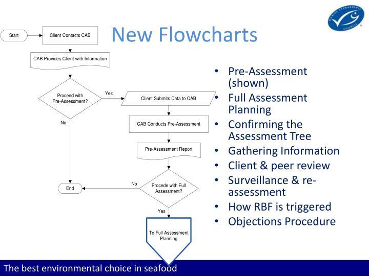 New Flowcharts